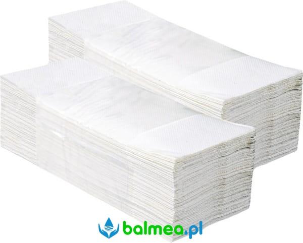2485ea55 Pojedyncze ręczniki papierowe białe ECONOMY PZ26